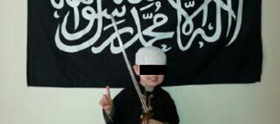 Not Surprising: Age SIX And He's Being Groomed For Jihad. Surprising: In British Suburbia