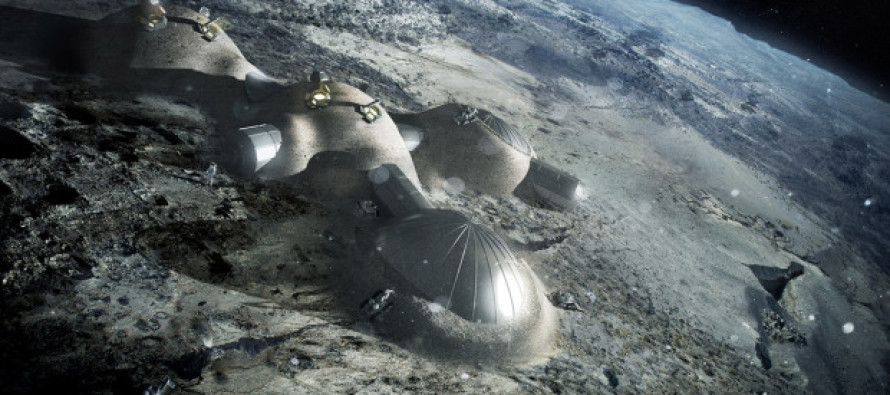 Great job, Obama! It isn't America that plans to 'build 3D-printed base on the moon by 2030