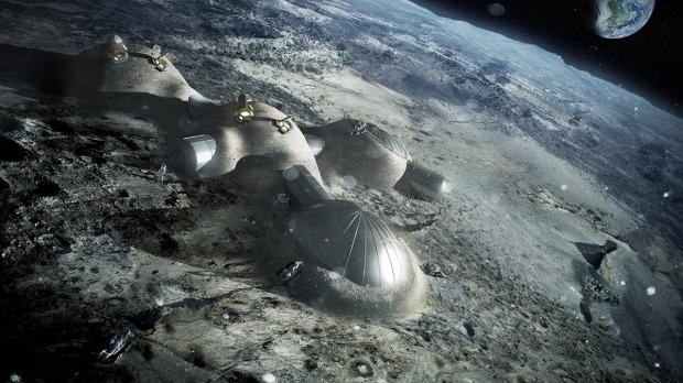 3d printed space base