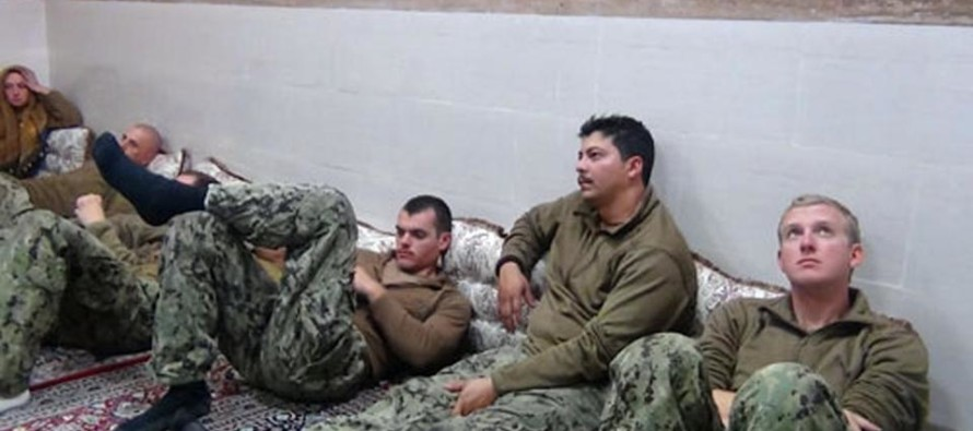 BREAKING!! American Warriors JUST Released From Iranian Captivity….U.S. Sailors!