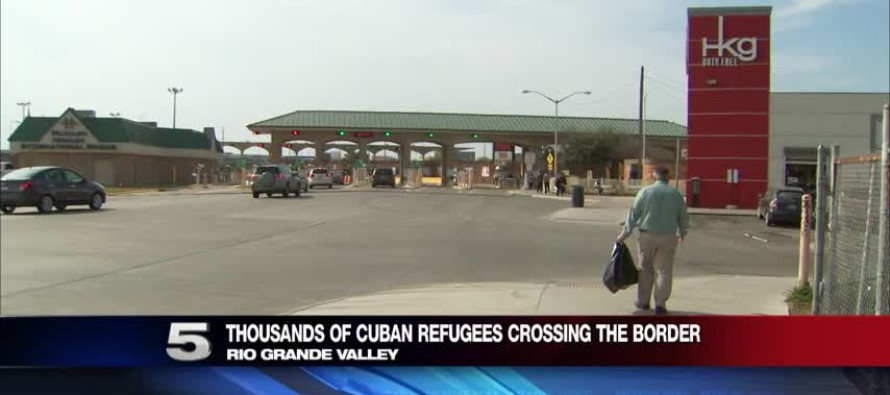Thousands Of Cubans Flood Across The Border