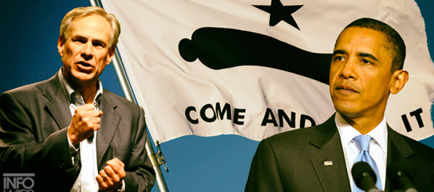 COME AND TAKE IT! Gov. Greg Abbott of Texas Takes On Obama Over Gun Control