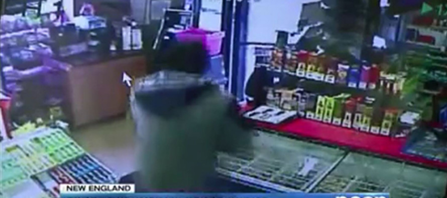 VIDEO: Armed Robbery Goes Badly For Criminal After He Insults Owner's Mother