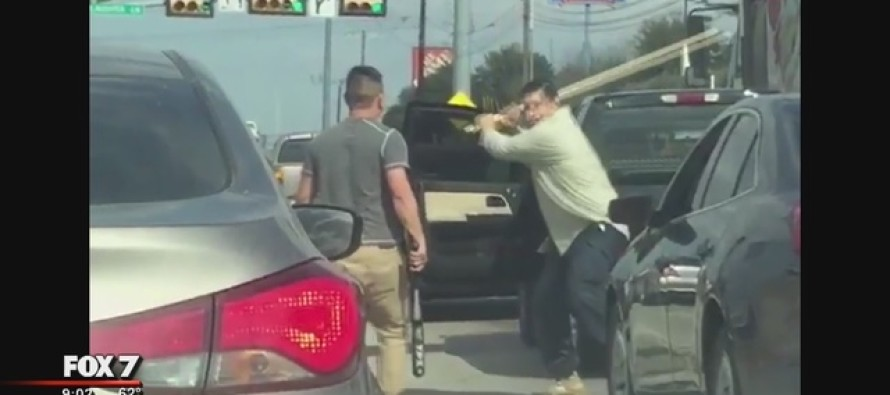 Texas Road Rage Fight Goes Viral