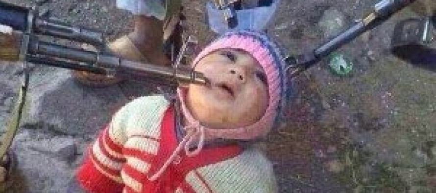 HORRIFIC! ISIS Monsters Strap Bomb on 4 Year-Old Boy and Blow Him Up