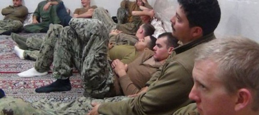 HELLS NO: Iran Mocks American Sailors… Claims They Started Crying After Capture