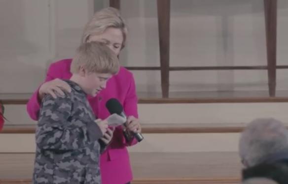 Hillary plants boy