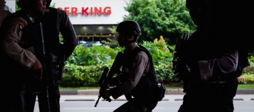 BREAKING: Bombing & Gunfire Erupt in Jakarta During Paris-Style Terrorist Attack