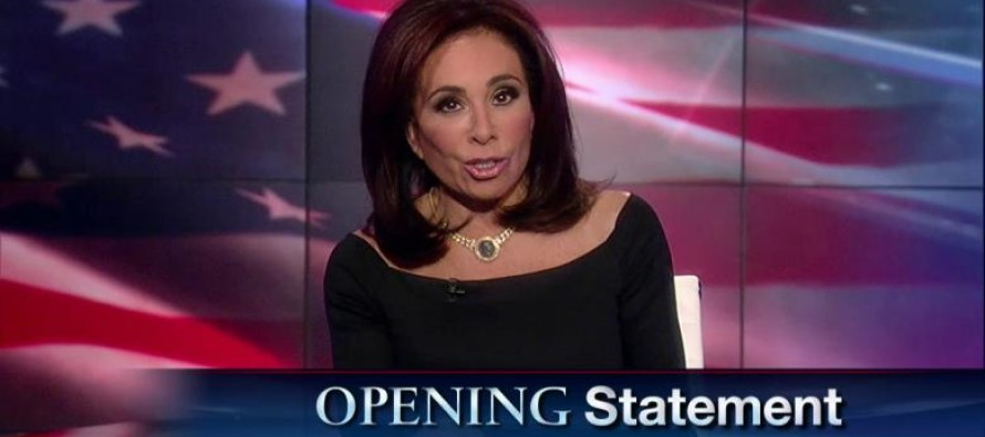 Judge Jeanine to Obama: Instead of blaming guns, why don't you start shooting terrorists?