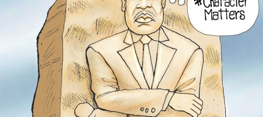 MLK Had A Dream (Cartoon)