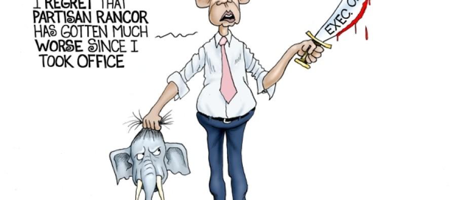 Obama Regrets (Cartoon)