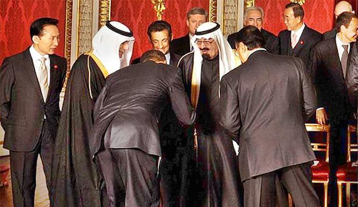 Obama-Bows-To-Soudi-King