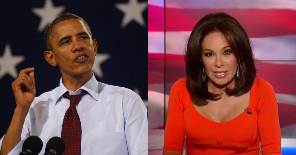 Obama-vs-Judge-Jeanine
