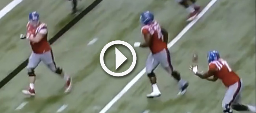 Video: Ole Miss head coach Hugh Freeze rejects FG opportunity in favor of Fat Guy Touchdown