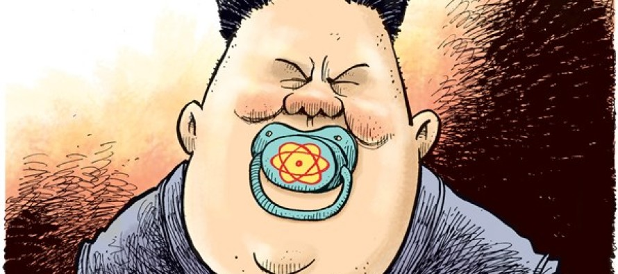Kim Jong Un Nuke Pacifier (Cartoon)