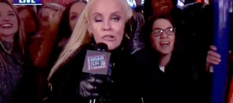 WATCH as Liberal TV Hosts Get Wasted & Make Fools of Themselves on New Year's Eve