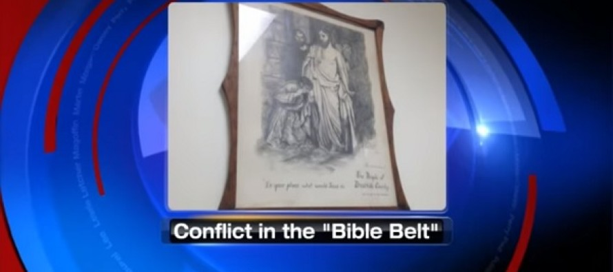 Freedom From Religion Foundation Wants Portrait Of Jesus Taken Down