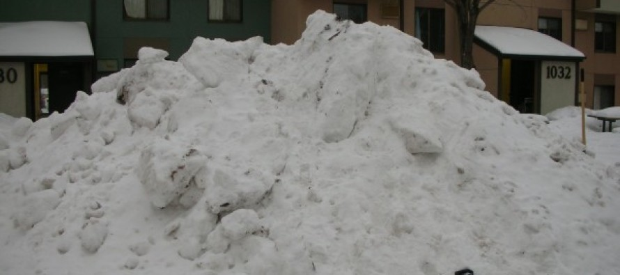 Young Kids See Something Sticking Out Of The Snow, They Look Closer And Make HORRIFYING Discovery