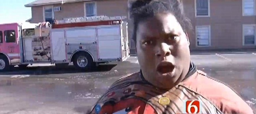 VIRAL Vid! Woman Goes On HILARIOUS Rant, After Escaping Fire With Kids…Gets Instant FAME!