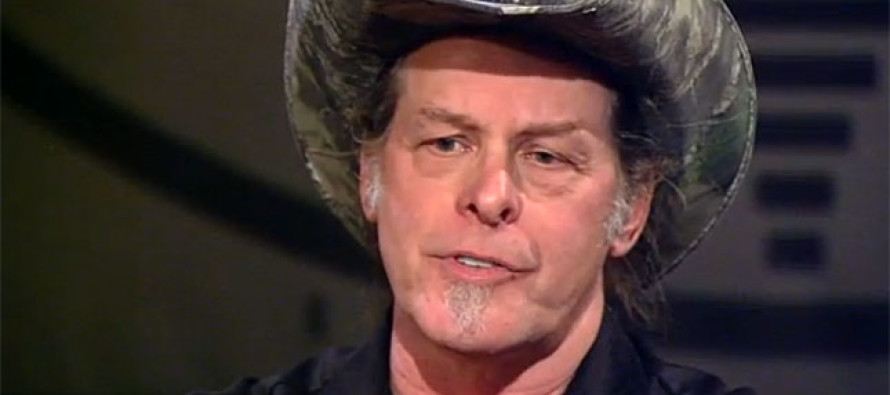 "Ted Nugent Releases Plan for Americans Everywhere to ""Raise Hell"" Against Obama…OH BOY"