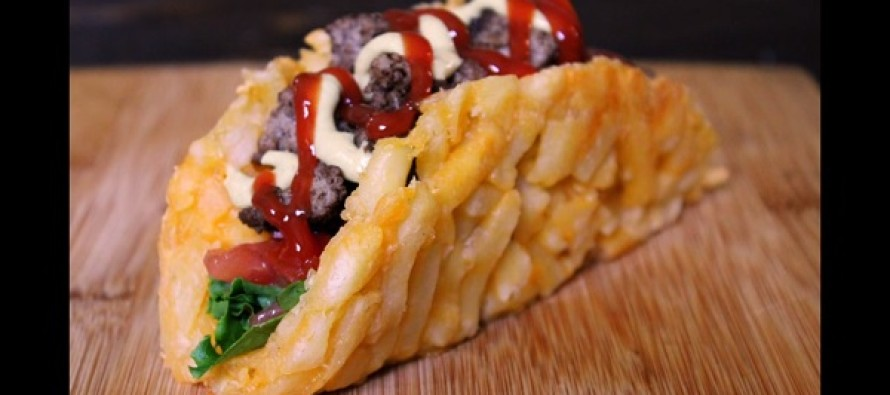 Video: Would You Make This? A Taco Made From A Burger And Fries