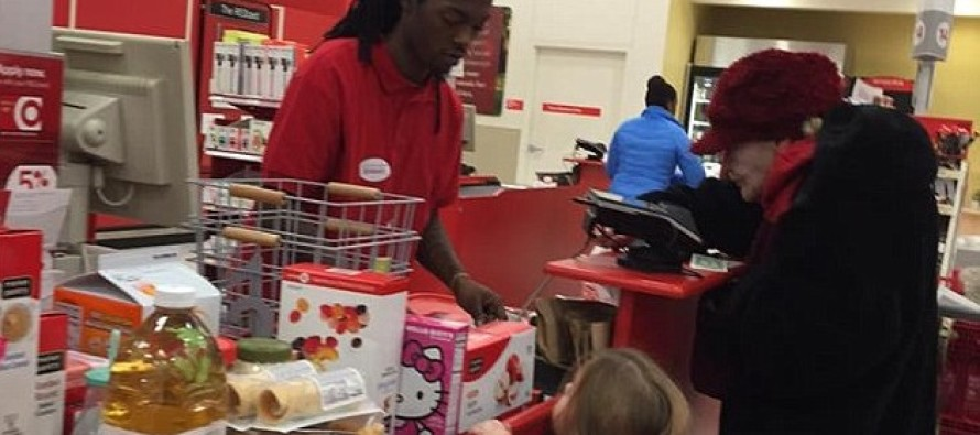 Going Viral: Teen Target Cashier Patiently Helps An Elderly Lady Count Out Pennies To Pay For Items