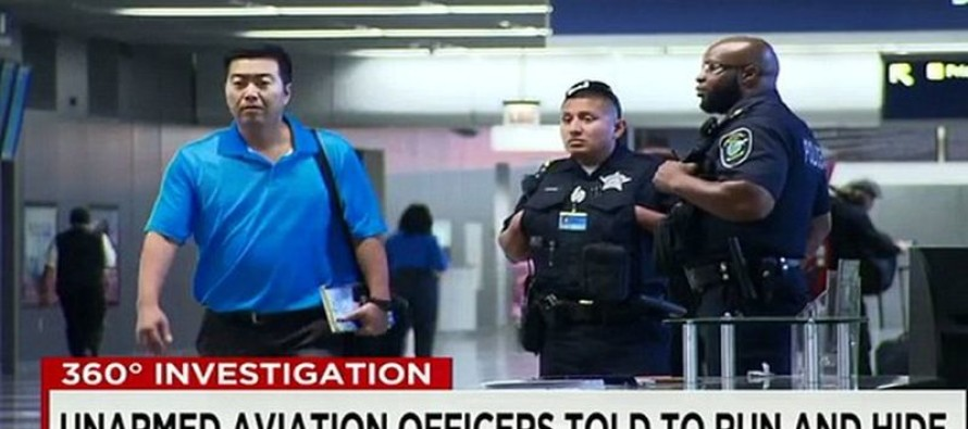 Police NOT Allowed To Carry Guns At Chicago Airports Told 'If evacuation is not possible – HIDE!'