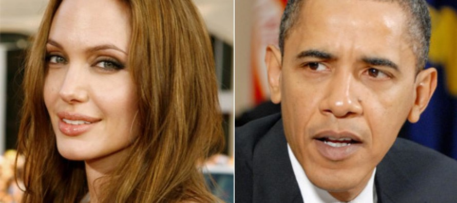 "Angelina Jolie ""HUMILIATES"" President Obama With The Truth, Then Ripping Him A New One, Says THIS!"
