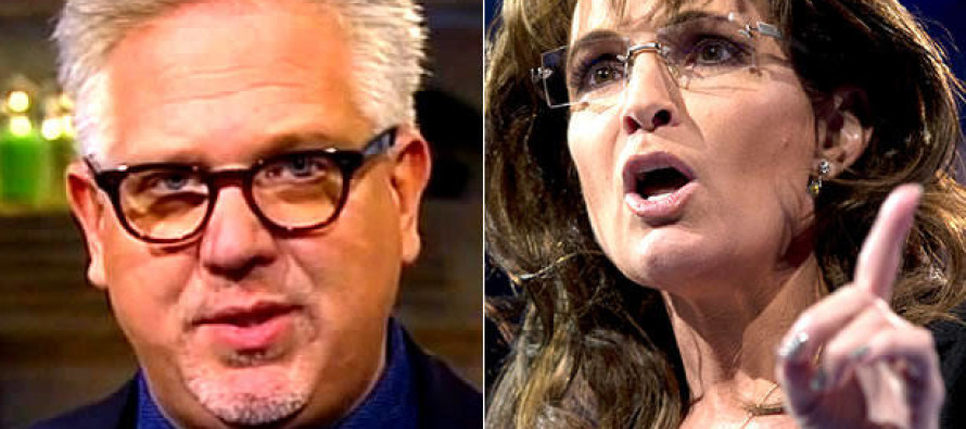 Glenn Beck Responds to Sarah Palin's Endorsement of Trump