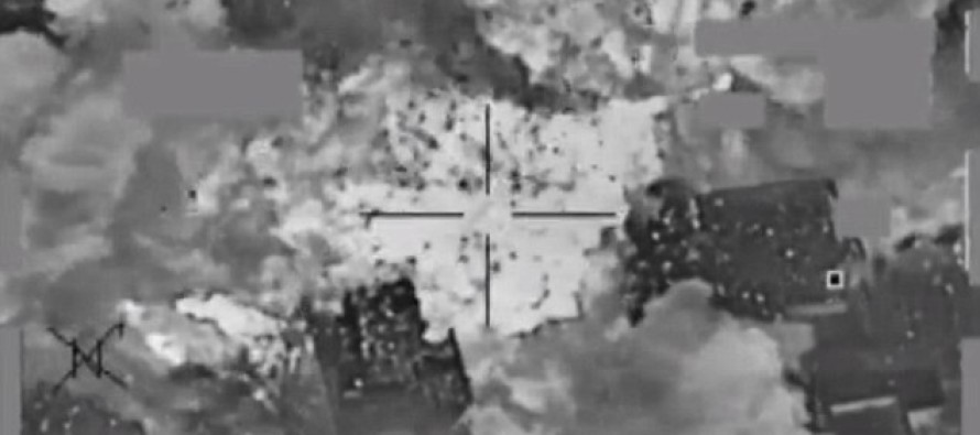 Video released of U.S. bombing ISIS bank; torching millions of dollars used to pay terrorists