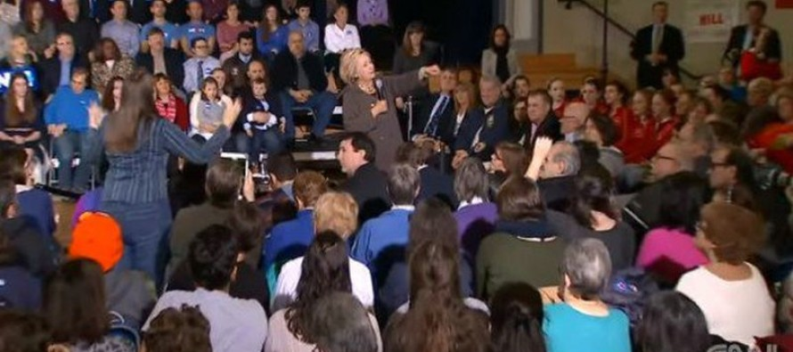 Hillary Heckled Over Bill's Sex Abuse Scandals by Rape Survivor