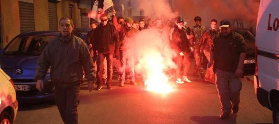 Angry French Mob Trashes Muslim Prayer Room and Burn Koran on Christmas