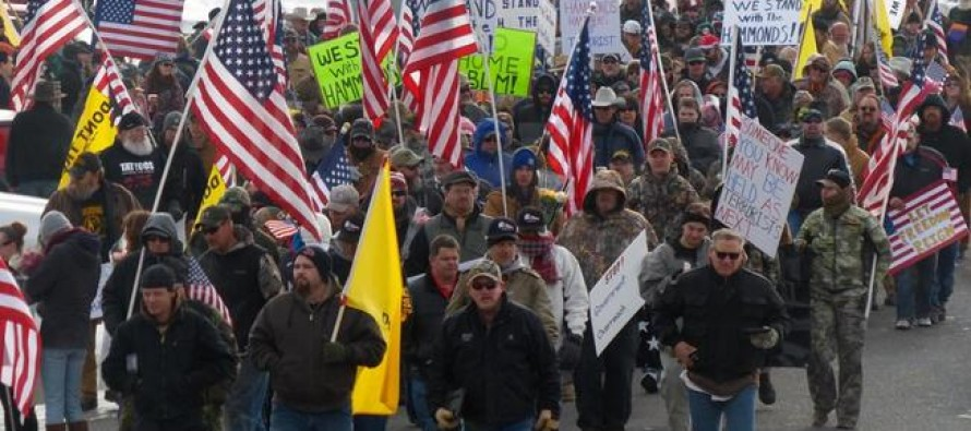 Three of Cliven Bundy's sons & 150 militia members seize federal building in Oregon