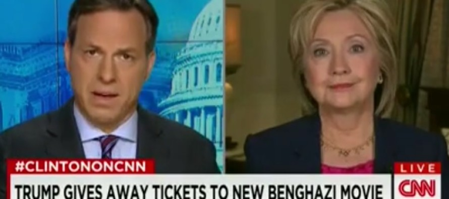 "Hillary Won't Watch '13 Hours' on Benghazi because she's ""too busy campaigning"""