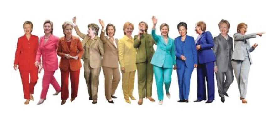 Lefty mag claims Hillary dresses like a lesbian