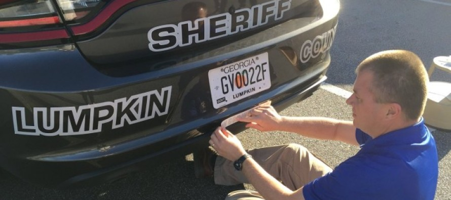 'In God We Trust' Decals Placed on Back of Georgia County Patrol Cars