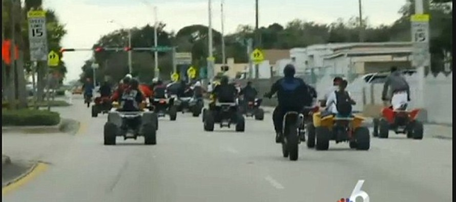 Dangerous MLK Day rideout is criticized as hundreds of illegal dirt bikes cause chaos in Florida