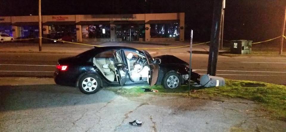 shooting victim's car