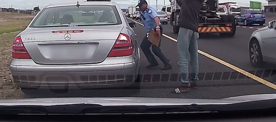 Cop SHOT POINT-BLANK In Back At Routine Traffic Stop, Then Something INCREDIBLE Happens…WATCH!