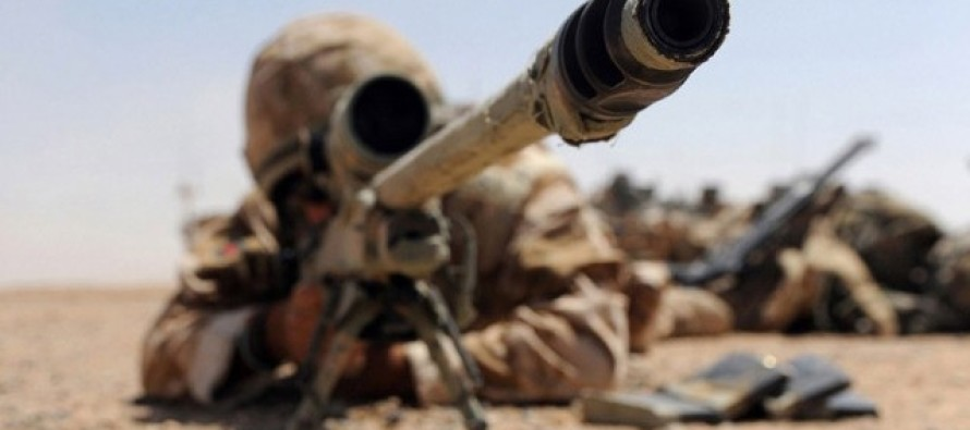 An SAS Sniper Killed Three ISIS Bombers From 1KM Away Through a 10in Wall