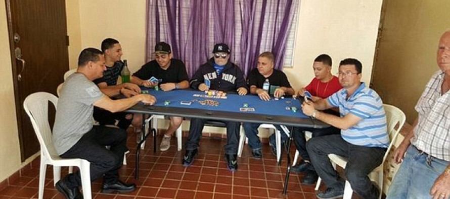 Family embalms and props up dead relative for one final poker game