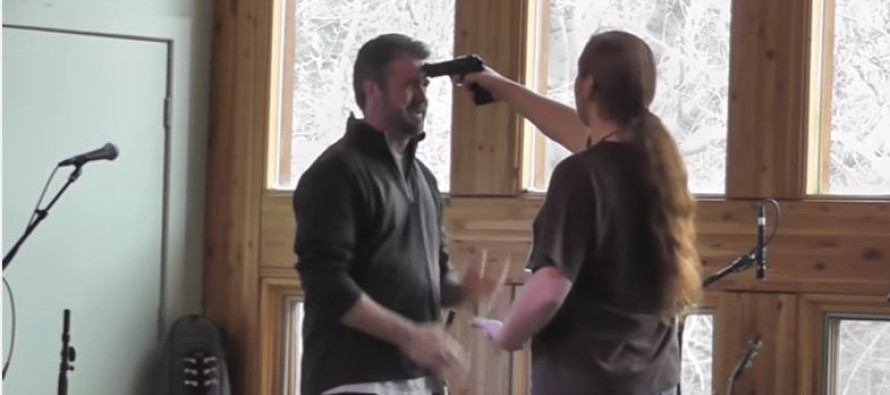VIDEO: An Expert Shows You What To Do If Someone Holds A Gun To Your Head