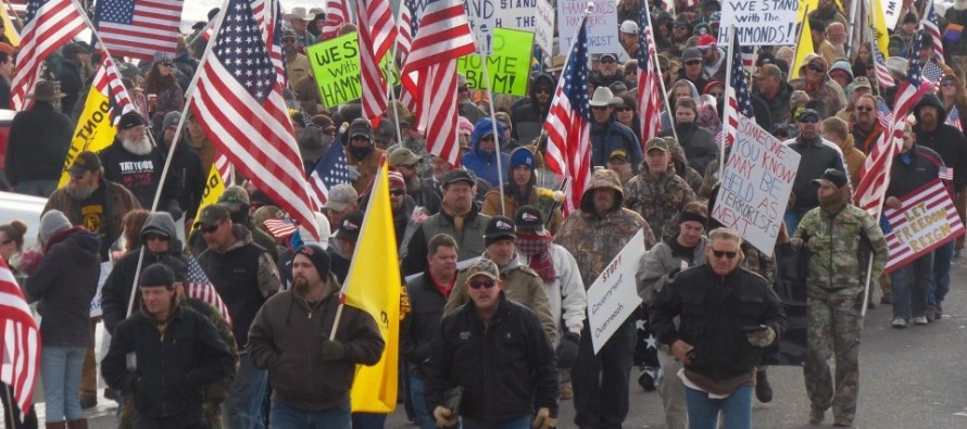 White militiamen aren't a threat like black protesters because 'they're not looting'