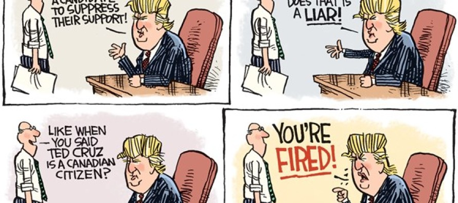 Trump Fraud (Cartoon)
