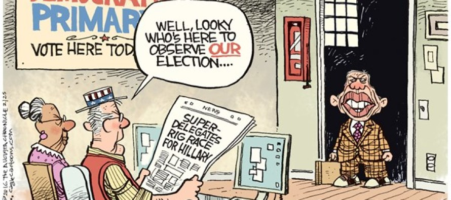 Carter Rigged DNC (Cartoon)