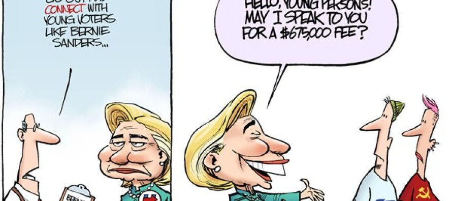 Hillary Connects (Cartoon)