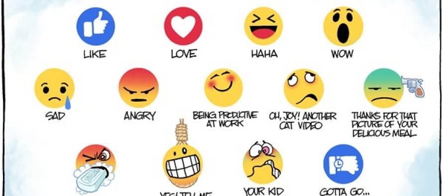 Facebook Likes (Cartoon)