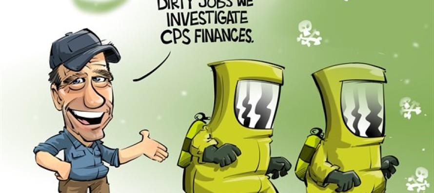 ILLINOIS investigating CPS (Cartoon)
