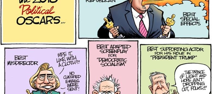 Political Oscars (Cartoon)
