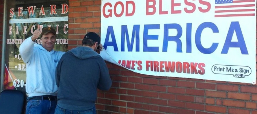VICTORY! Small Town America Finds EPIC Way To Triumph Over Powerful Atheist Group…By Doing THIS!